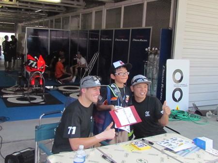 2014 鈴鹿8耐 Honda DREAM RT SAKURAI ジェイミー スタファー トロイ ハーフォス 亀谷長純 CBR1000RRSP 9336