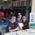 写真: 2014 鈴鹿8耐 Honda DREAM RT SAKURAI ジェイミー スタファー トロイ ハーフォス 亀谷長純 CBR1000RRSP 9336