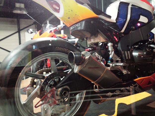 写真: 2014 鈴鹿8耐 Honda DREAM RT SAKURAI ジェイミー スタファー トロイ ハーフォス 亀谷長純 CBR1000RRSP 12