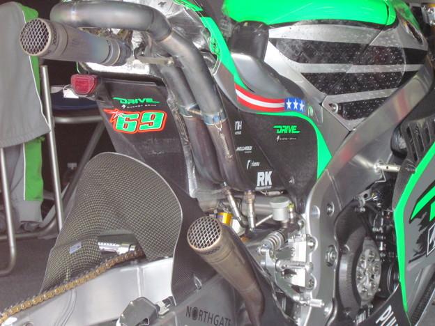 写真: 2014 motogp もてぎ ニッキー・ヘイデン Nicky・HAYDEN Drive M7 Aspar Honda RCV1000R オープンクラス 31