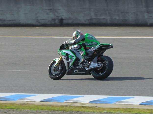 写真: 2014 motogp もてぎ ニッキー・ヘイデン Nicky・HAYDEN Drive M7 Aspar Honda RCV1000R オープンクラス 127