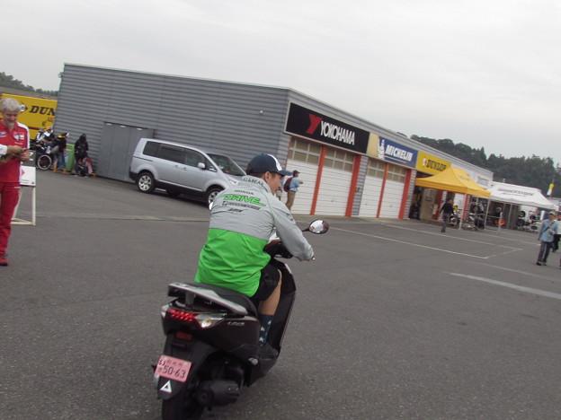 写真: 2014 motogp もてぎ ニッキー・ヘイデン Nicky・HAYDEN Drive M7 Aspar Honda RCV1000R オープンクラス 315