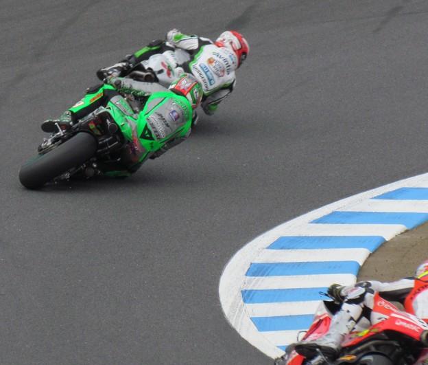 写真: 2014 motogp もてぎ ニッキー・ヘイデン Nicky・HAYDEN Drive M7 Aspar Honda RCV1000R オープンクラス 592