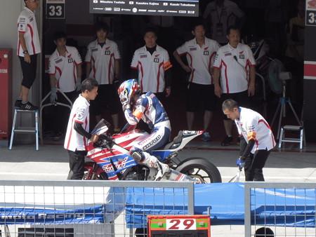 2014 鈴鹿8耐 SUZUKA8HOURS Honda 熊本レーシング 吉田光弘 小島一浩 徳留和樹 CBR1000RR 93