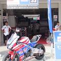 写真: 2014 鈴鹿8耐 SUZUKA8HOURS Honda 熊本レーシング 吉田光弘 小島一浩 徳留和樹 CBR1000RR 466