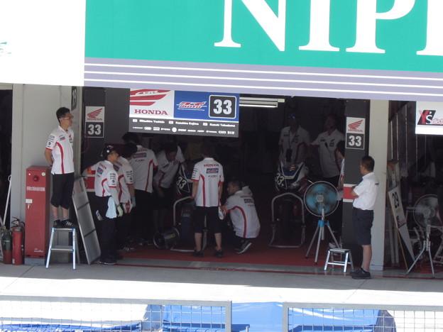 写真: 2014 鈴鹿8耐 SUZUKA8HOURS Honda 熊本レーシング 吉田光弘 小島一浩 徳留和樹 CBR1000RR 862